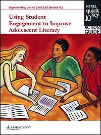 Quick Key 10 Using Student Engagement to Improve Adolescent Literacy Pamphlet Cover